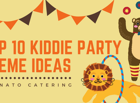 Top 10 Kiddie Party Theme Ideas