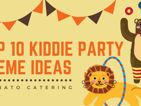 Top 10 Kiddie Party Theme Ideas