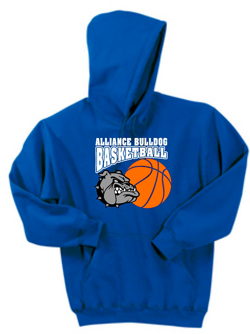 Bulldog Basketball Hoodie