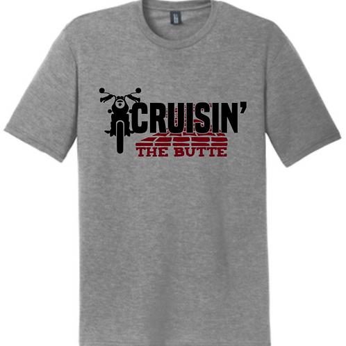 Cruisin' The Butte-Bike T-shirt
