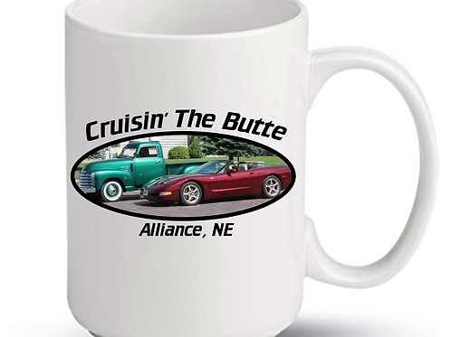 Cruisin' The Butte Mugs
