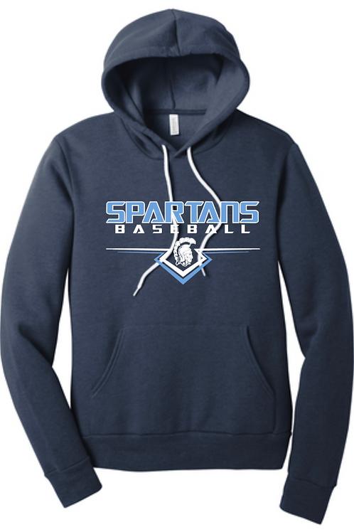 Spartans #6 Hooded Sweatshirt