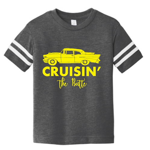 Classic Cruisin' The Butte Toddler Tee