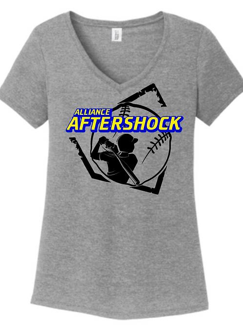 AFTERSHOCK LADIES VNECK #4
