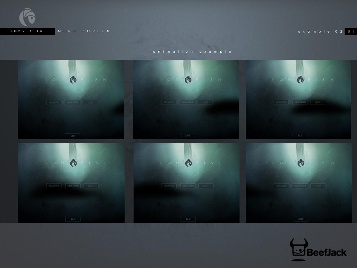 Concept UI Design animation