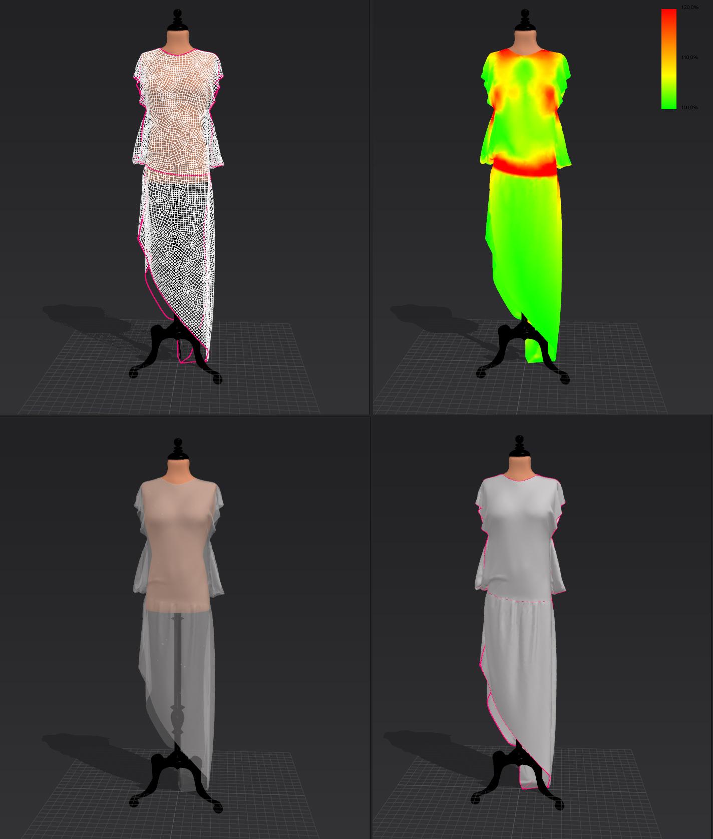 cloth study /