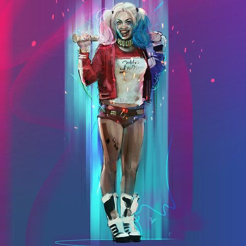 copia de HARLEY QUINN / A1 ( Limited 25 copies)