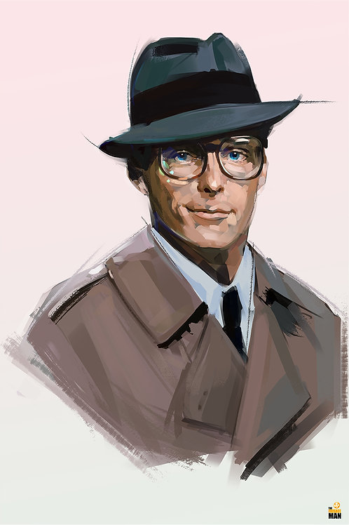 Clark Kent - Christopher Reeve / A3 (Limited 100 copies)