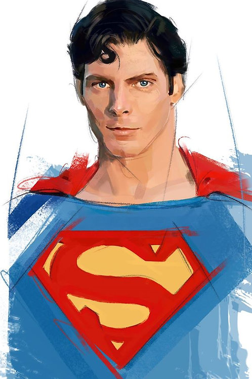 Superman / Christopher Reeve / Size A1