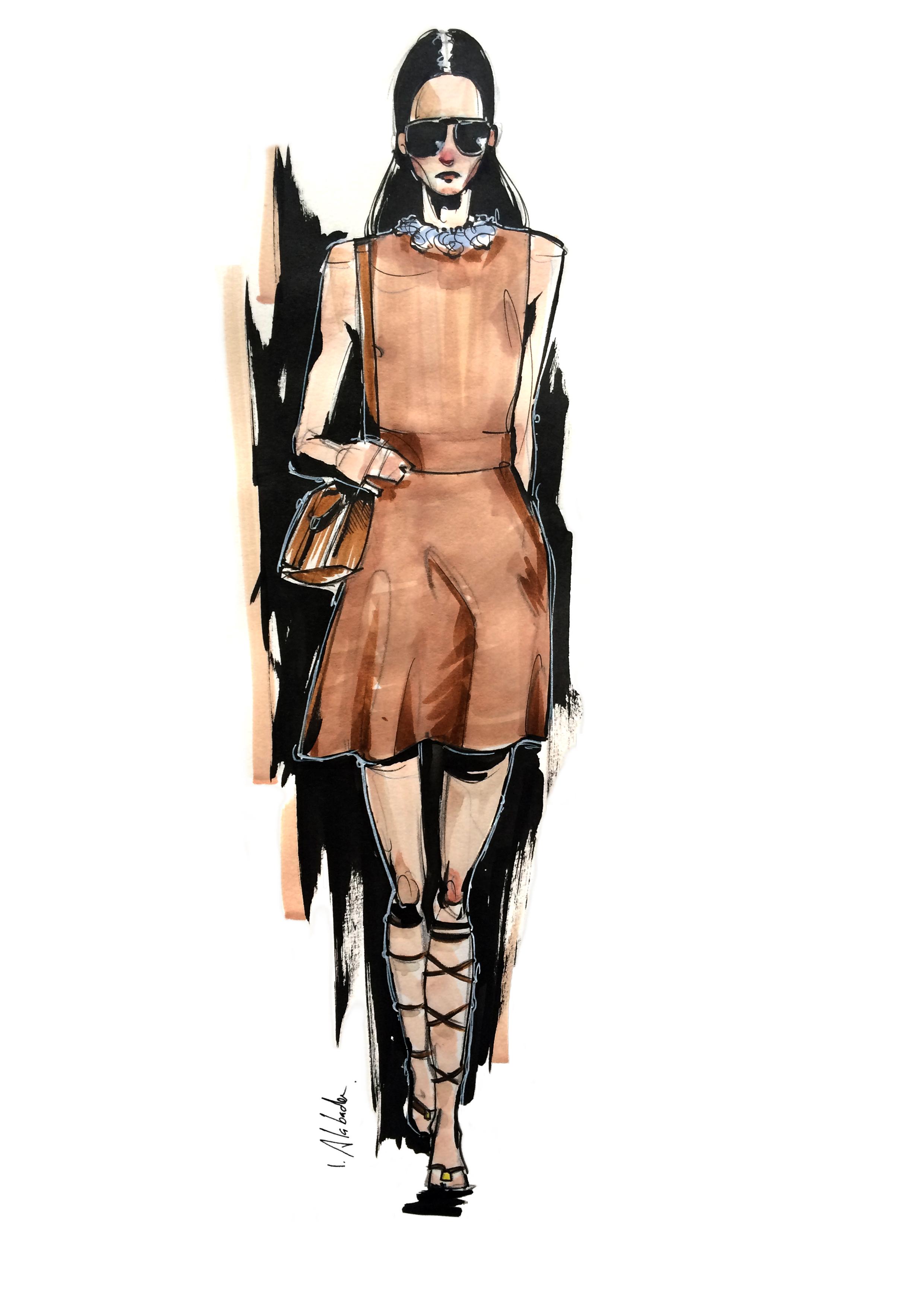 Valentino / fashion illustration