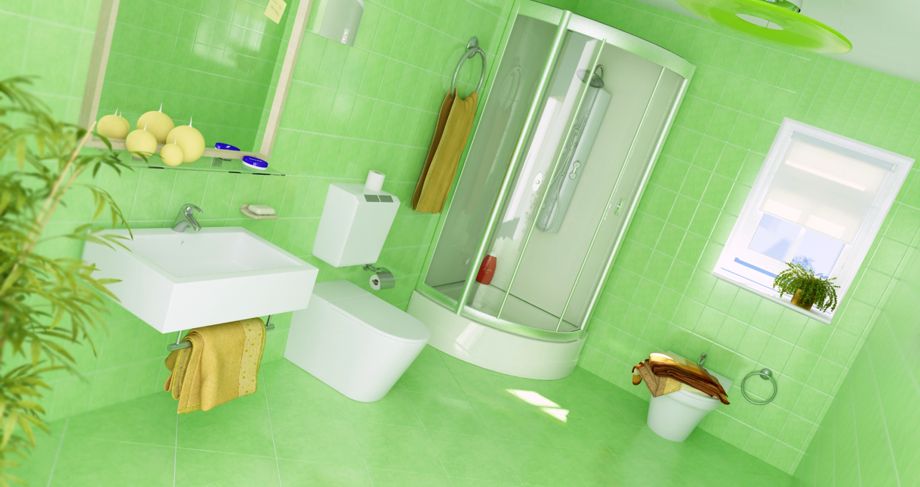 Toilet  3D / Vray