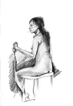 Nude 01 pencil