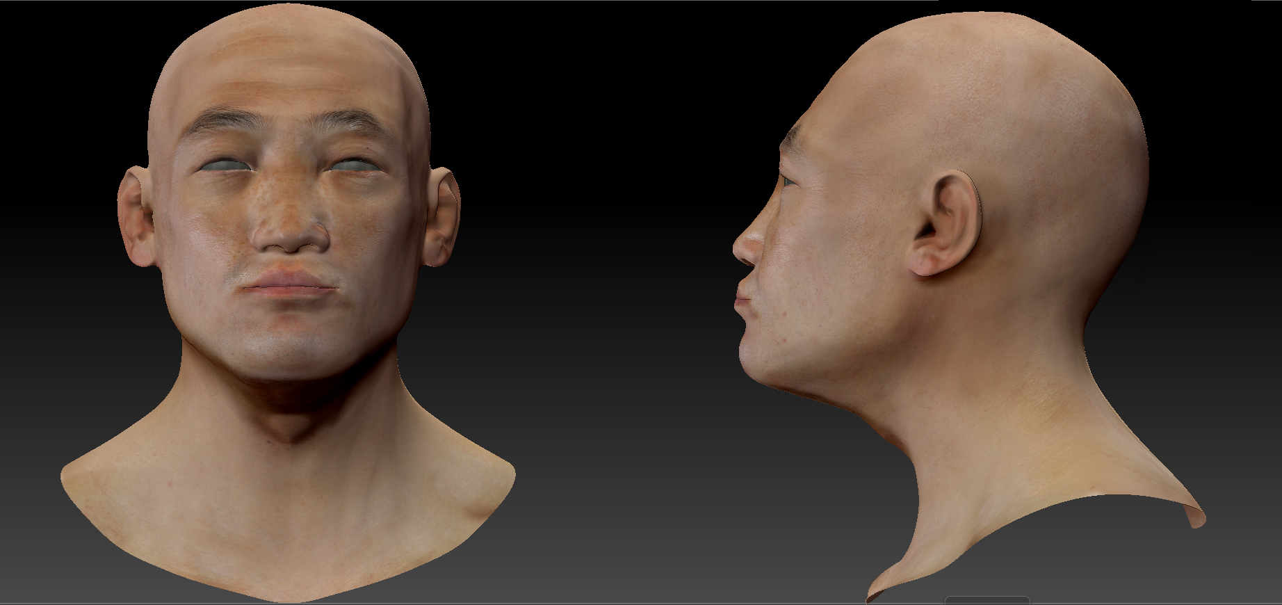 Facial anatomy / asian