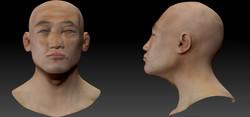 Facial anatomy / asian