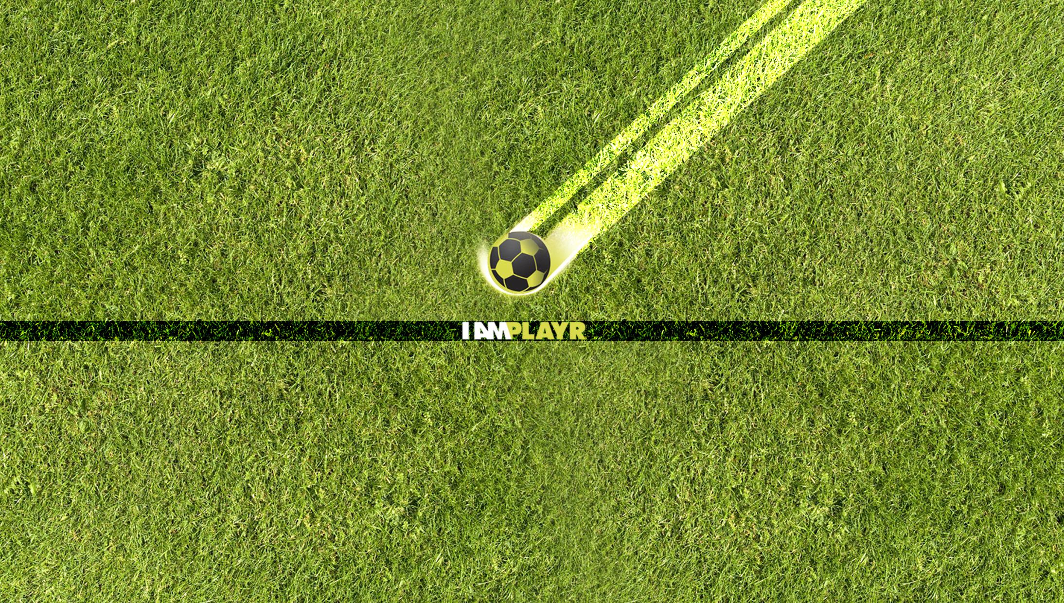 Soccer game presentation
