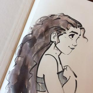 moana sketch