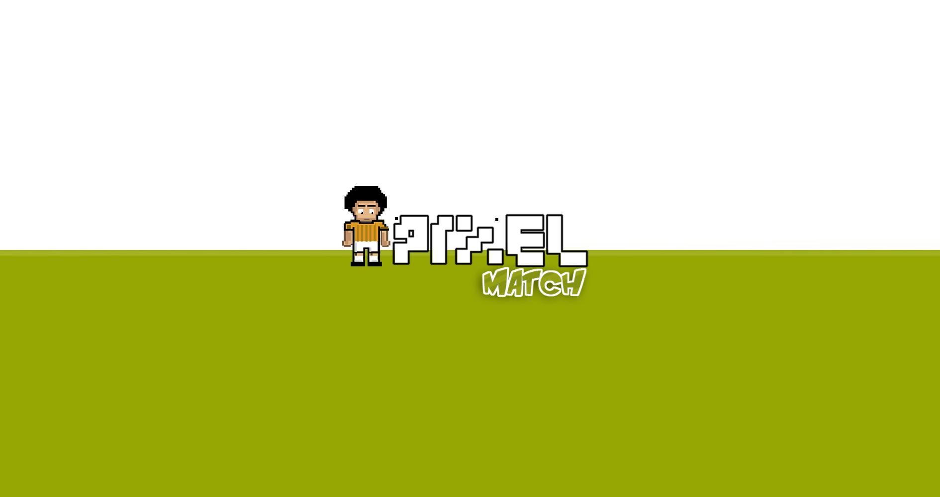 PixelMatch Logo Videogame