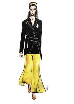 Celine / fashion illustration