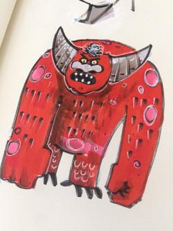 red creature