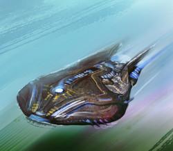 Concept art / Alien SpaceCraft
