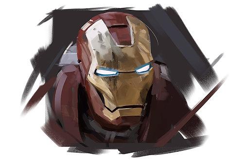 Avengers / Ironman  A3 SIZE