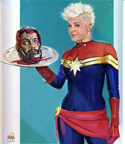 BRIE LARSON / Captain Marvel