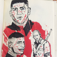 ink sketches