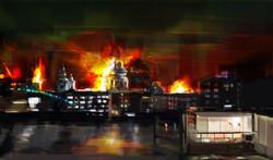London has fallen concept art