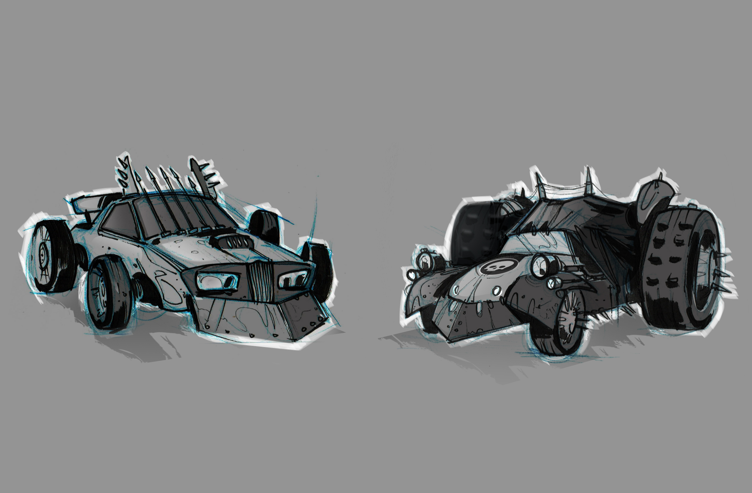 Madmax_cartoon style cars1