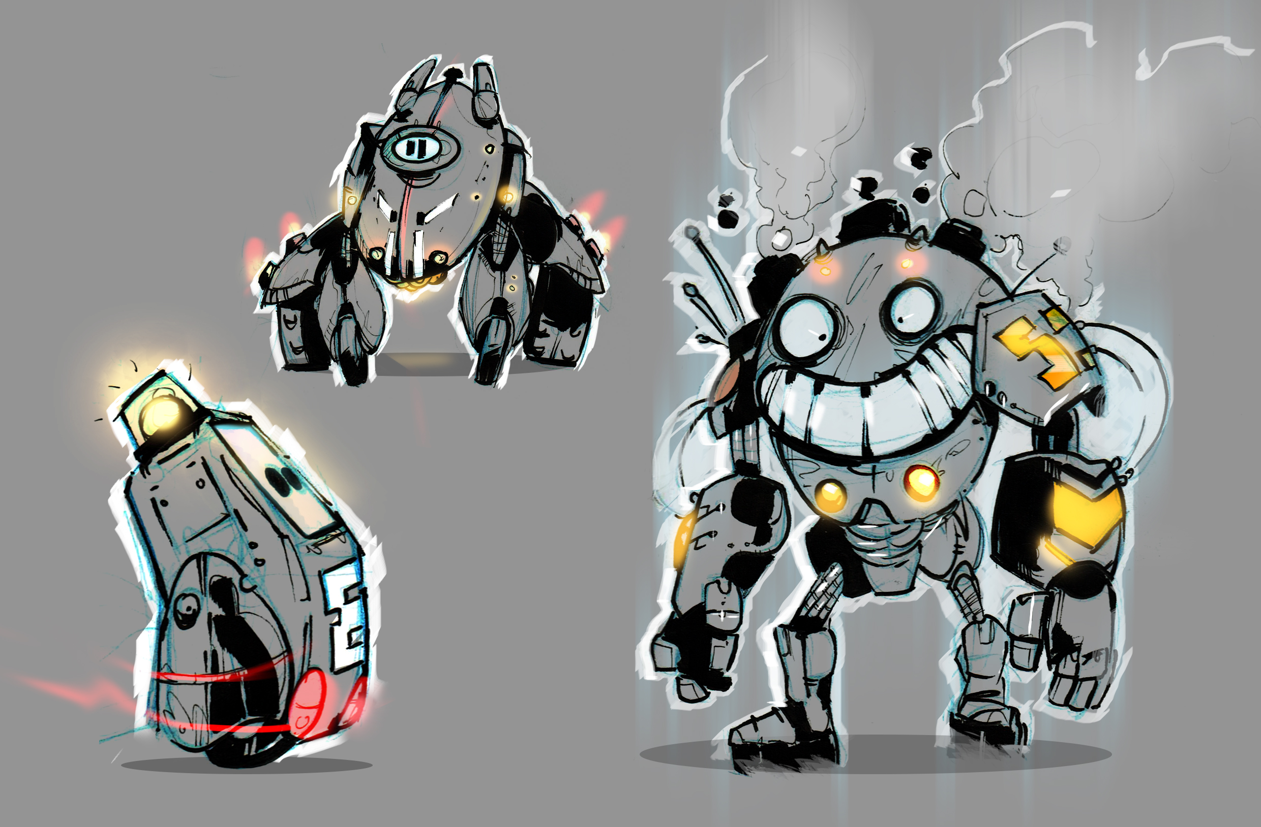 cartoon bots