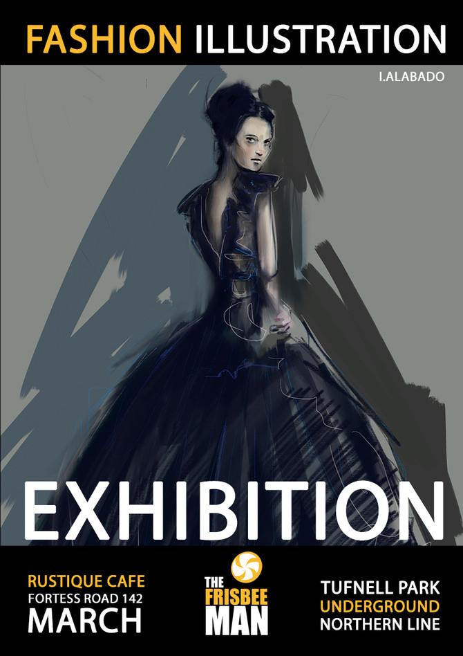 Fashion Illustration Exhibition London