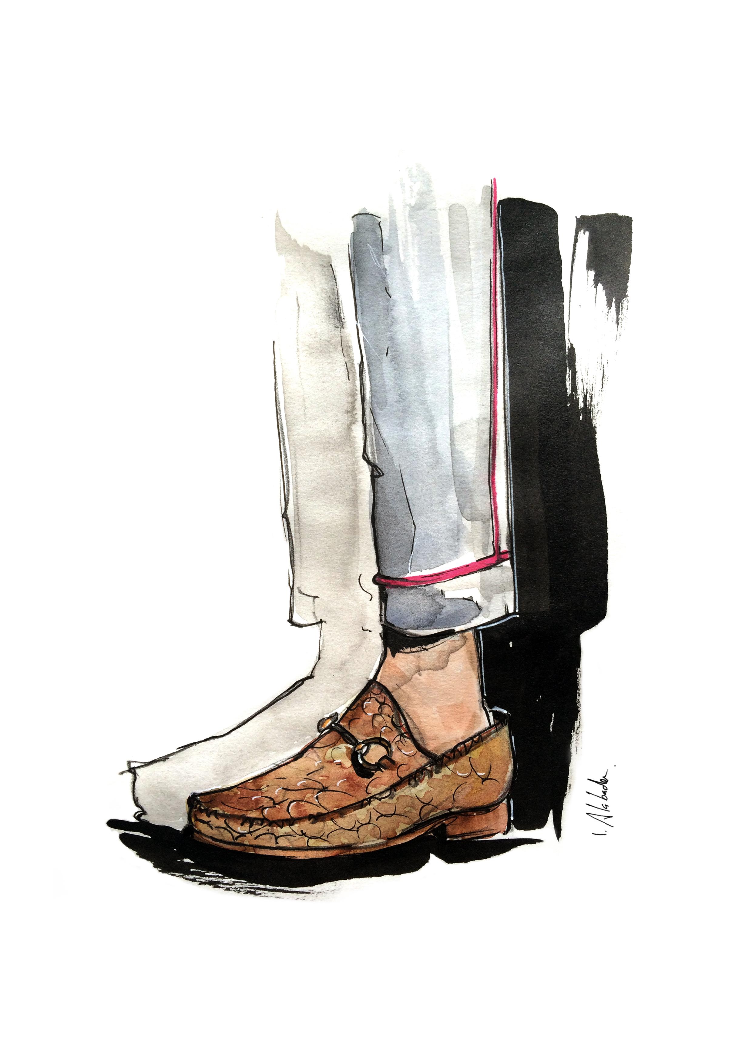 Gucci / fashion illustration