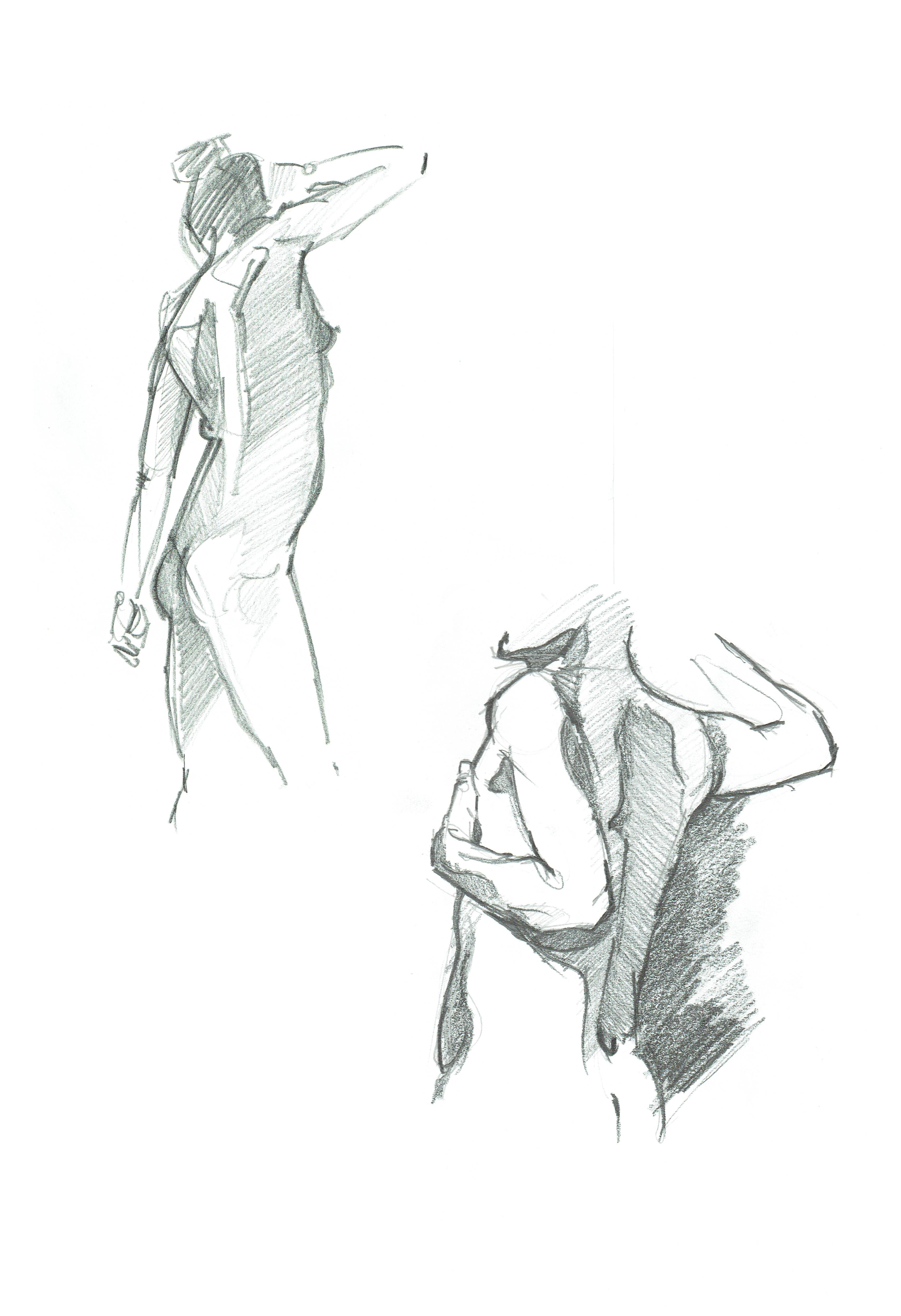 Lifedrawing pencil