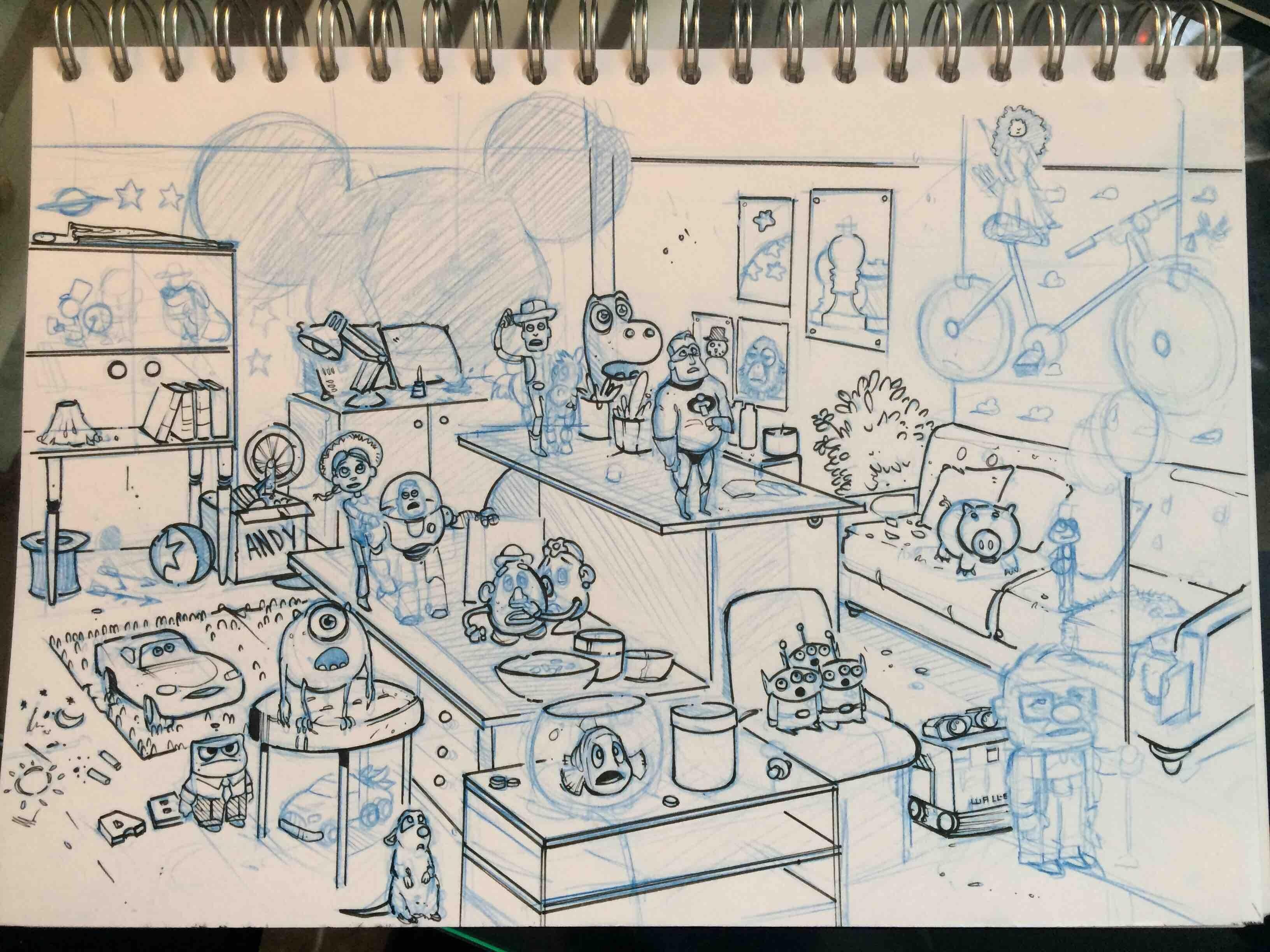 The Visit / sketch