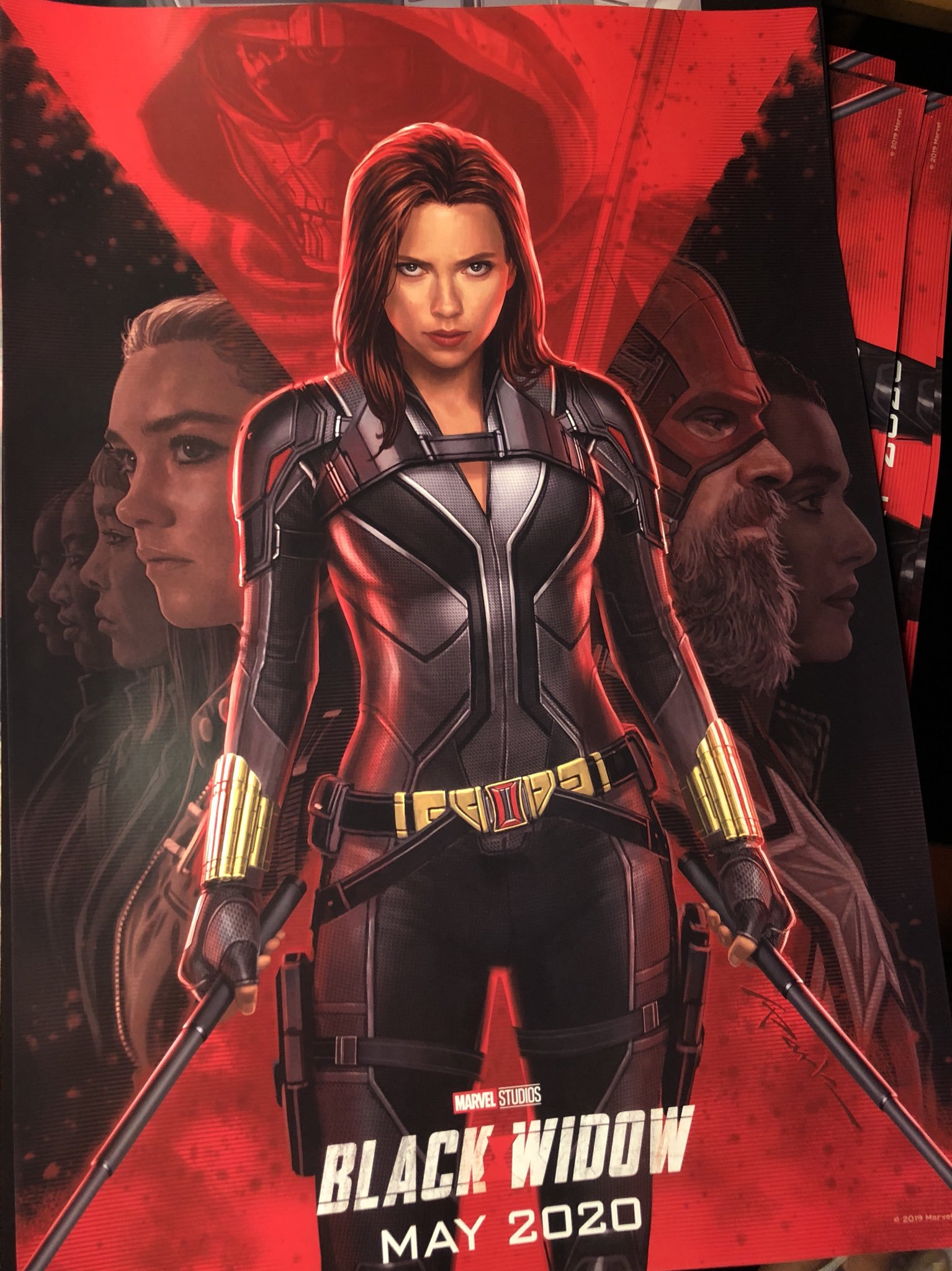 blackwidow poster