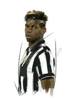 Juventus football player