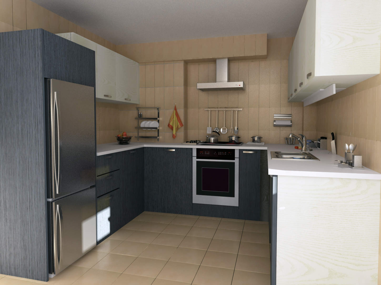 kitchen 3D / environment