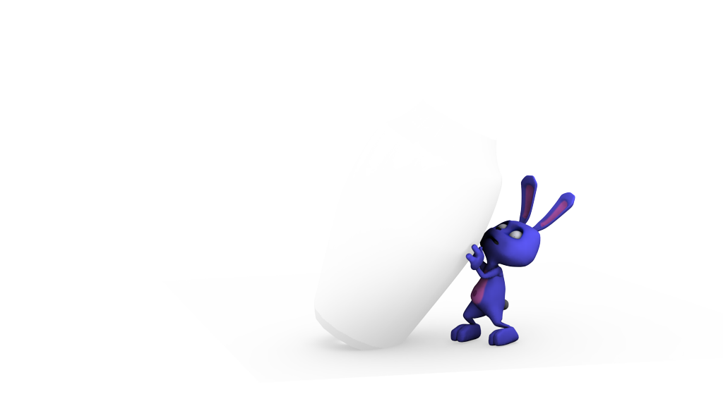 bunny 3d and compo
