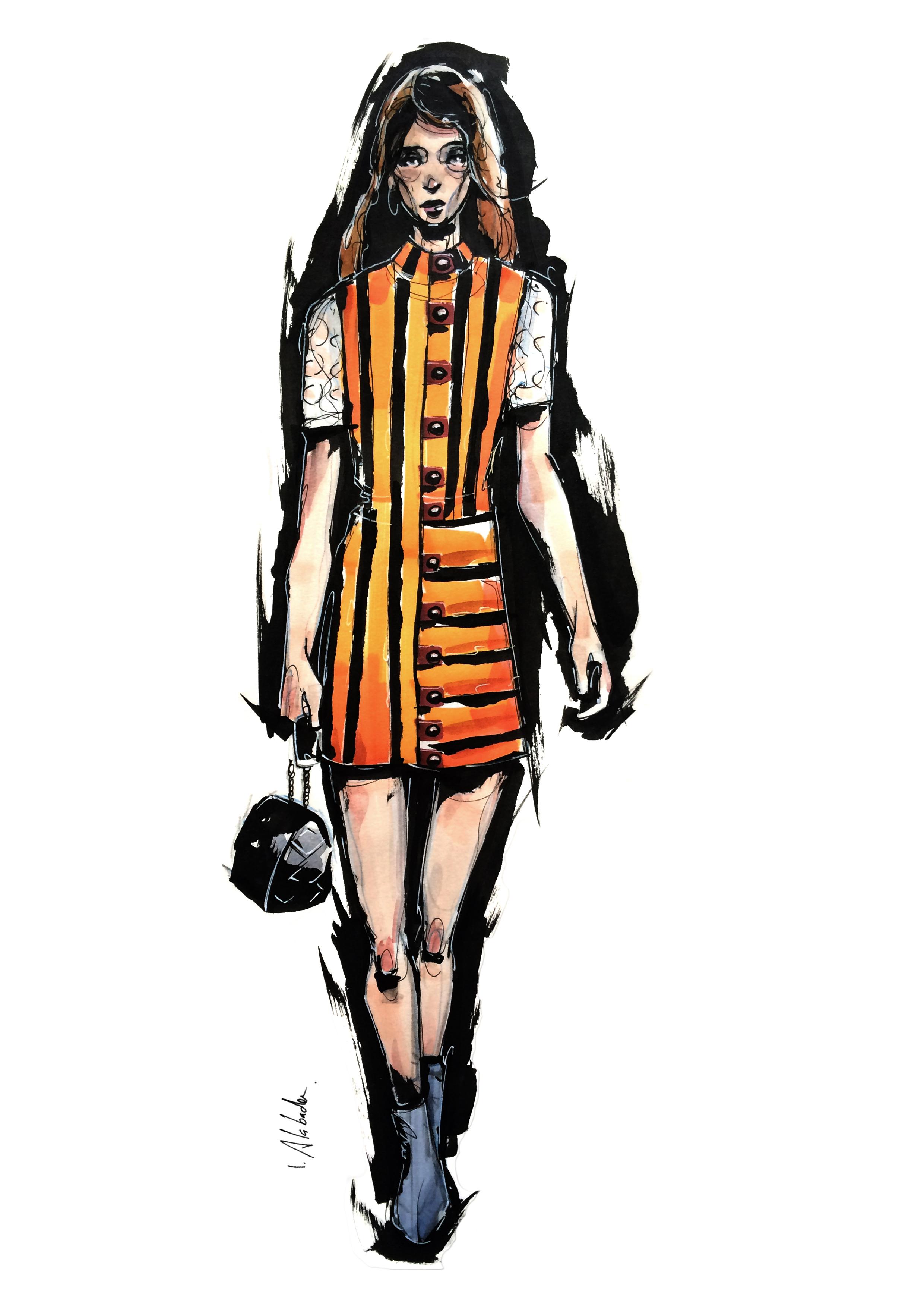 Louis Vuitton / fashion illustration
