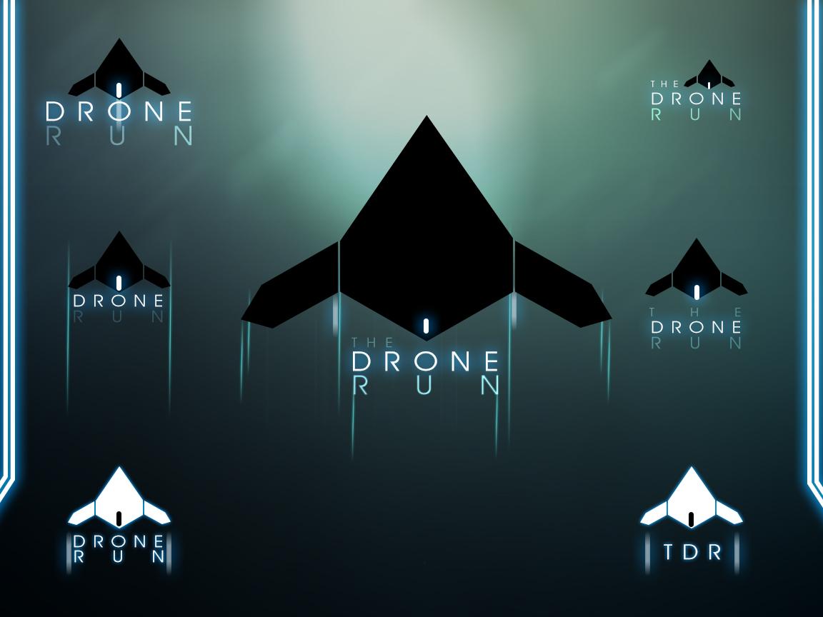 V2 Logos Drone Run