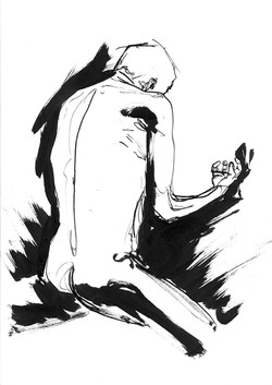 Ink life drawign