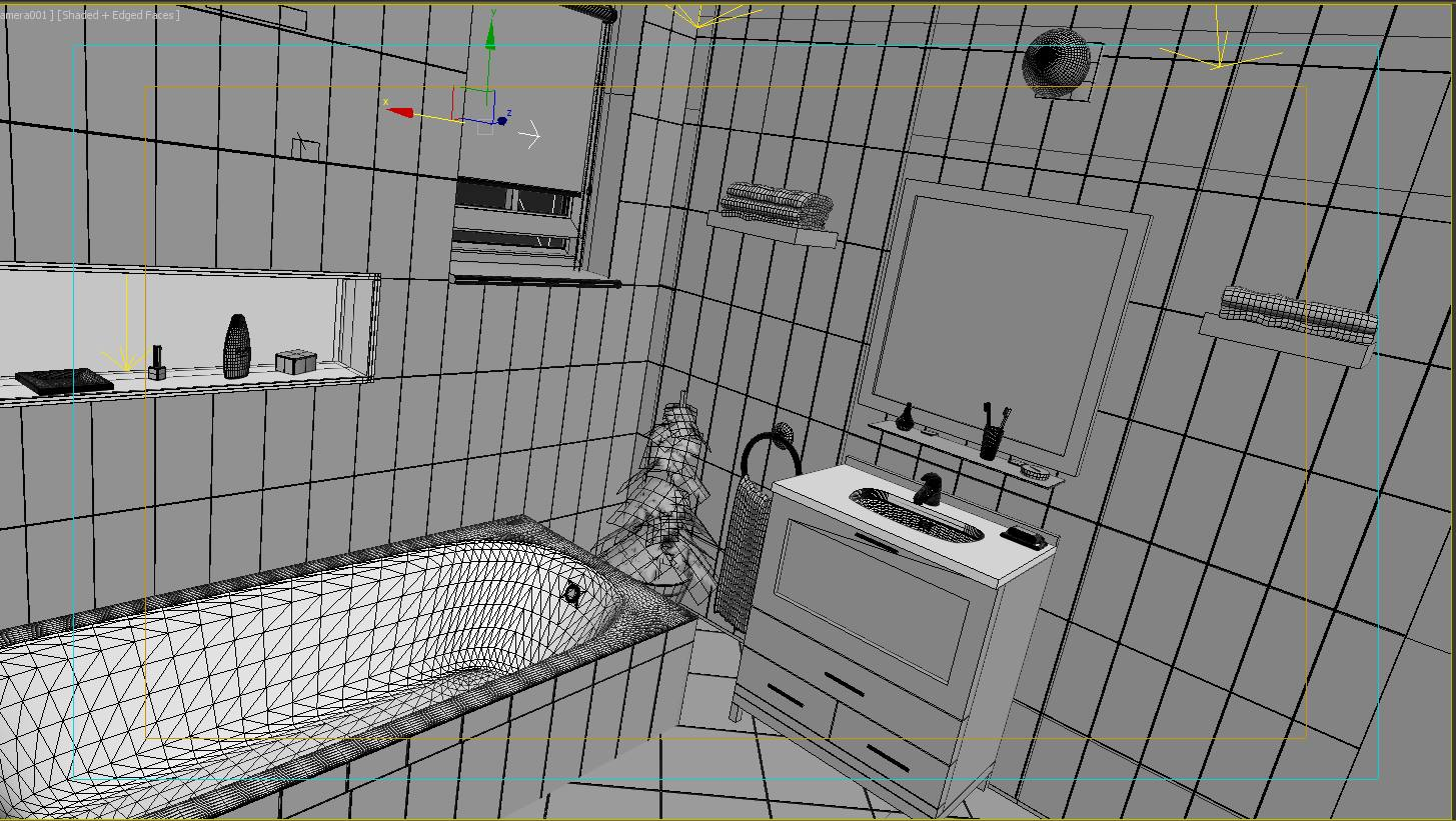 wc wireframe