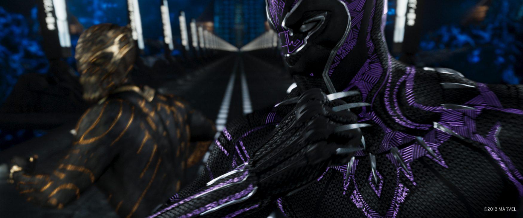 blackpanther and killmonger