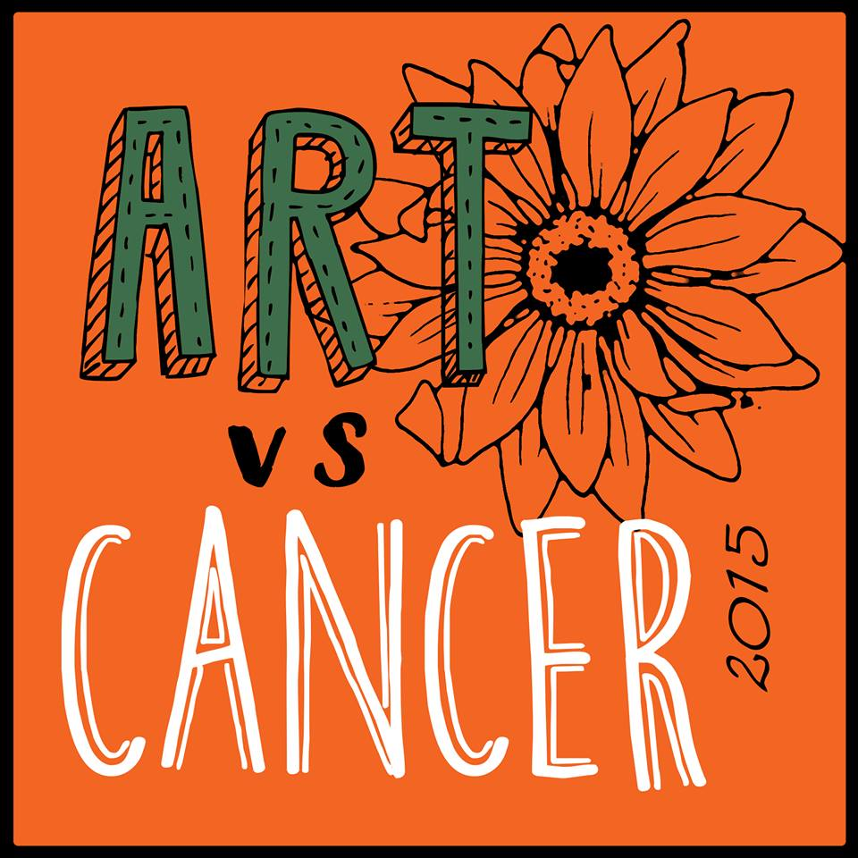 The Frisbeeman in ART VS CANCER