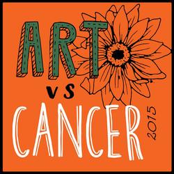 The Frisbeeman in ART VS CANCER