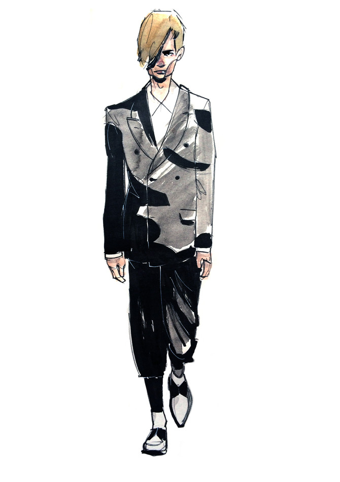 New Fashion Illustrations