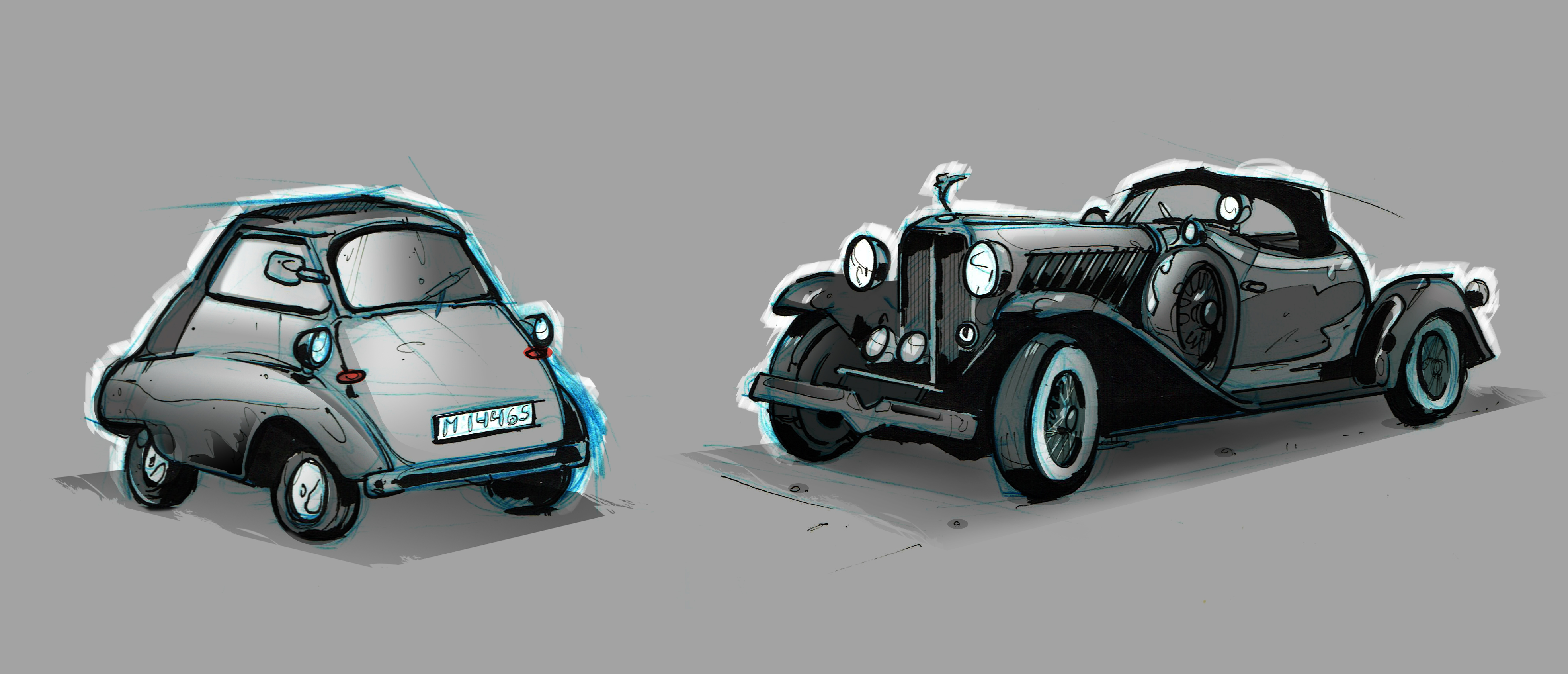 05 car sketches