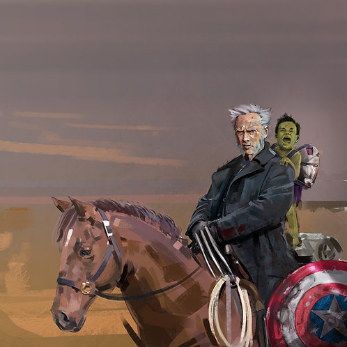 Clint Eastwood as Old Man Logan A3