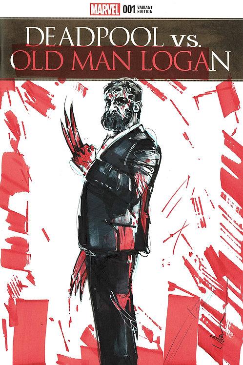 Deadpool vs OldManLogan Issue 01