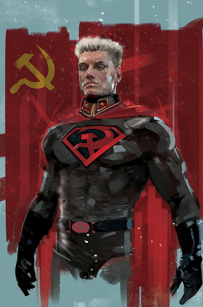 superman redson / ivan drago